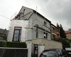 Isolation façade Jambes - Baufix